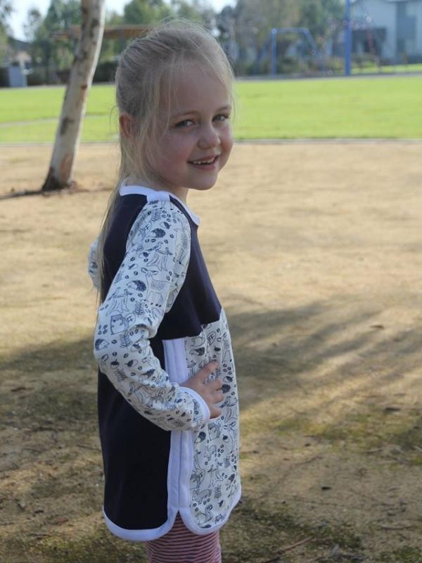 Tunic option, long sleeves