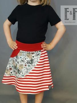 Little Treasures Skirt PDF pattern 3m-12y