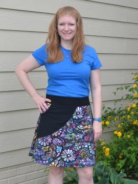 Sassy Pocket Skirt for Women PDF pattern xs-4xl