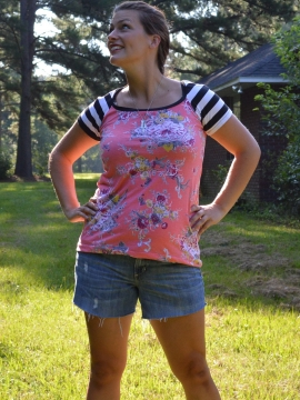 "BLAST (Bodacious Ladies' All Sleeve Top) - PDF pattern sizes 00-24 (32-52"" bust)"