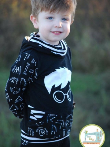 OPP (On Point Pullover) for Kids PDF Pattern sizes 3m -12Y