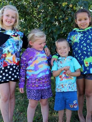 Back to School hoodie PDF Pattern sizes 3m-11/12 Y