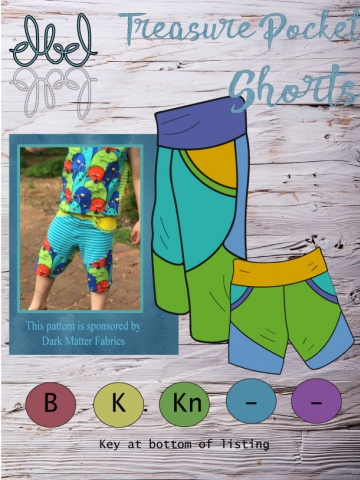 Treasure Pocket Shorts