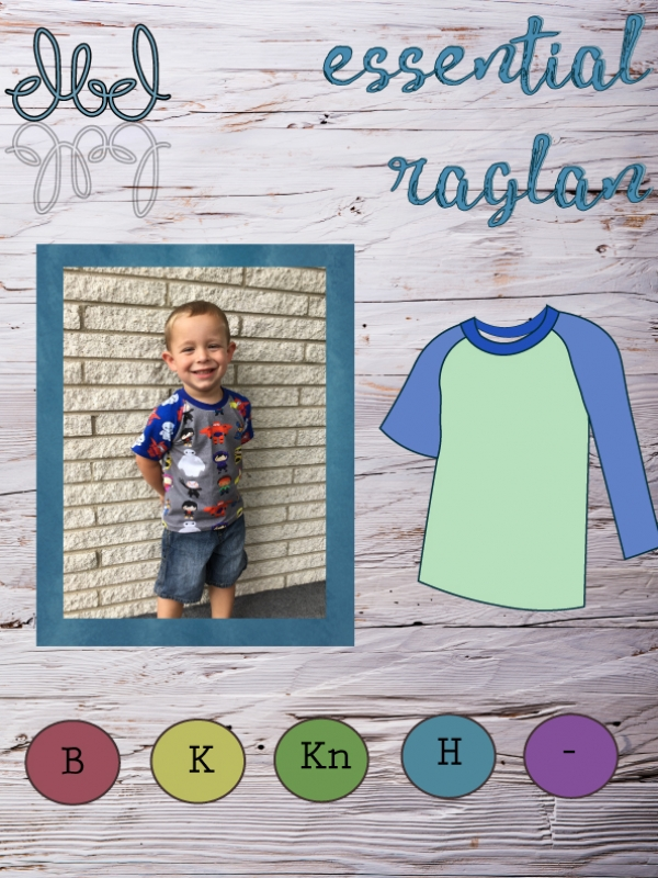The ALL NEW raglan will be your new favorite